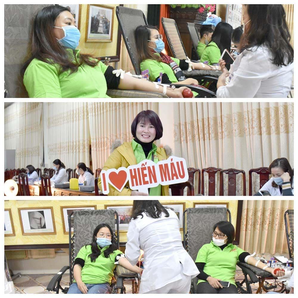 công ty pqa tổ chức hiến máu tình nguyện