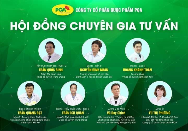 hội đồng khoa học của công ty dược phẩm pqa