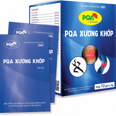PQA XƯƠNG KHỚP chuyên dùng cho người bị đau nhức xương khớp do phong thấp