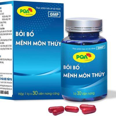 PQA MỆNH MÔN THỦY giúp bồi bổ thận âm, tăng cường sức khỏe